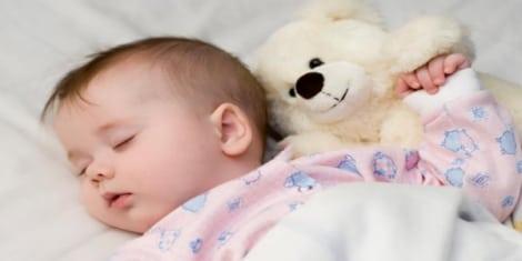 النوم لدى طفلك