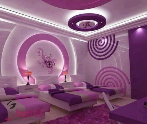 تصميمات غرف نوم حديثة (17)