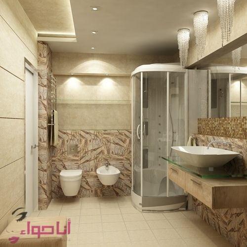 ديكورات حمامات (1)