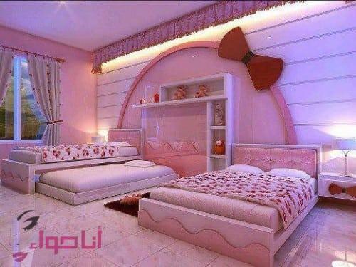غرف نوم بنات (15)
