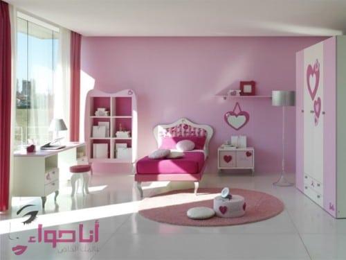 غرف نوم بنات (2)