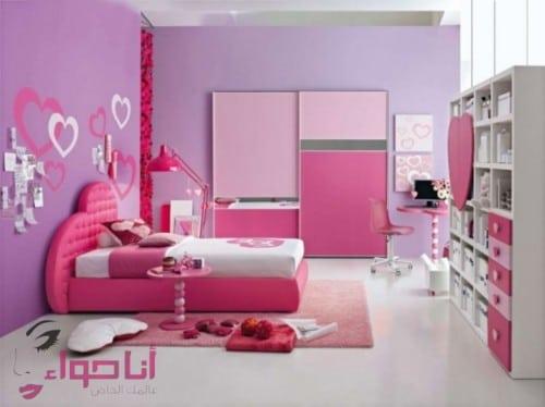 غرف نوم بنات (7)