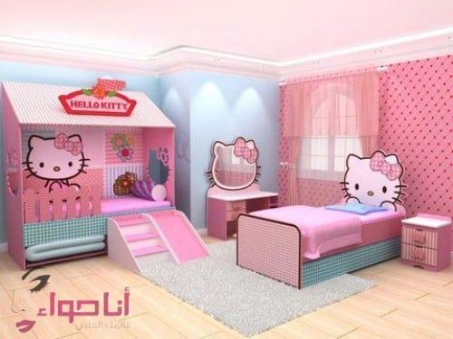 غرف نوم بنات (8)